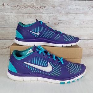 big sale 77eaa 4f28c Nike Shoes - Nike Free Balanza Purple Metallic Silver
